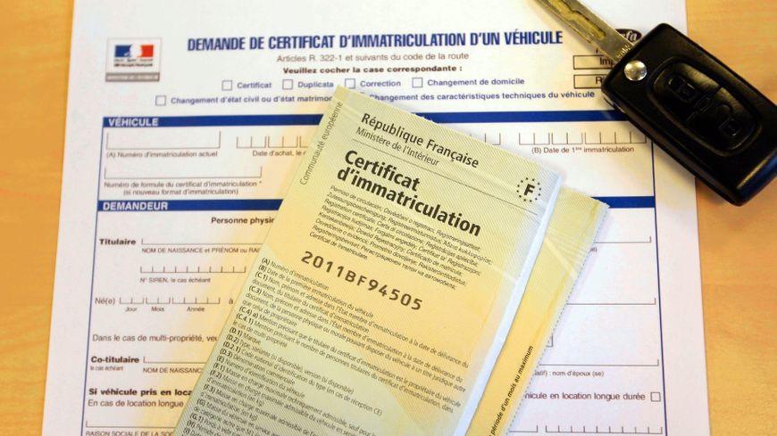 Carte Grise Immatriculation Immatonline Carte Grise