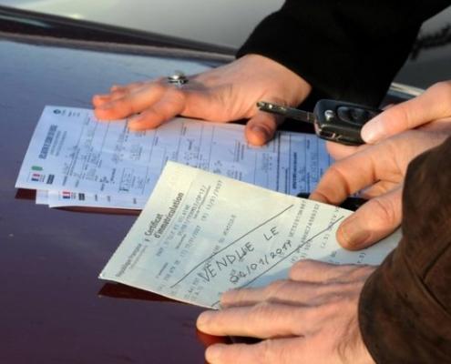 déclaration de cession suite à la vente de votre véhicule